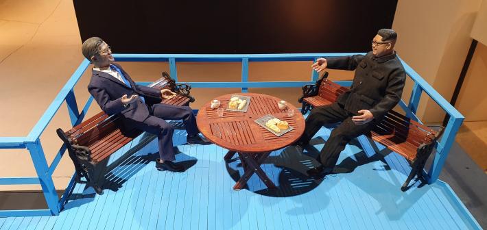 국내 최초 첫 디오라마(Diorama) 전시! '재현의 마술사 신언엽'