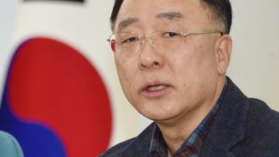 홍남기 부총리, 7일 대기업 만나 '신종 코로나' 대책 논의 예정