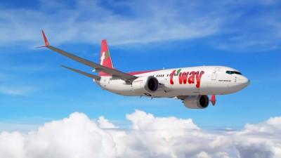 티웨이항공, 비행 중 휴대용 배터리서 연기···사고 막은 승무원