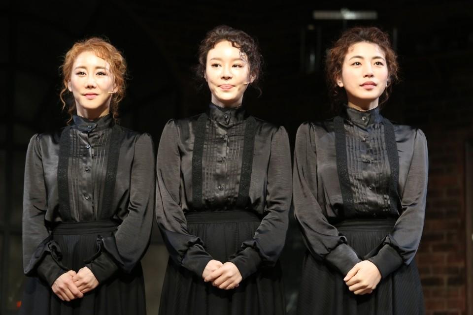 뮤지컬 '마리 퀴리' 프레스콜 / 사진 : 김현주 기자