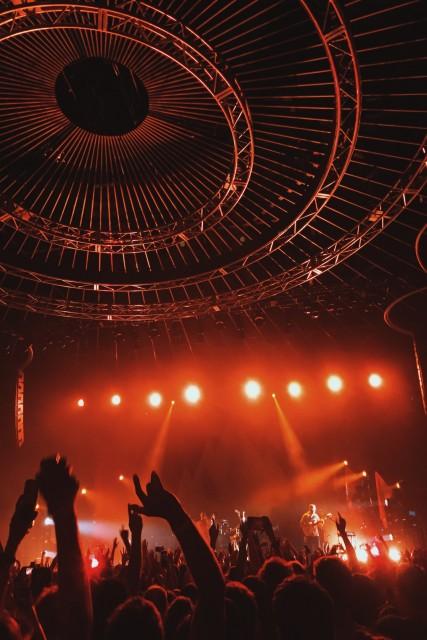 콘서트장에서 열광하는 관객들 / Photo by Aaron Paul on Unsplash