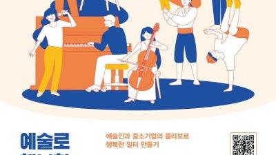 SBA, '예술로 행복한 중소기업 프로젝트' 운영기업 모집…27일 접수마감