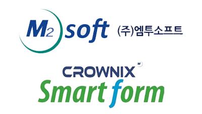 엠투소트트, 전자문서 솔루션 '크로닉스 스마트 폼' 앞세워 올해 상반기 지속 성장