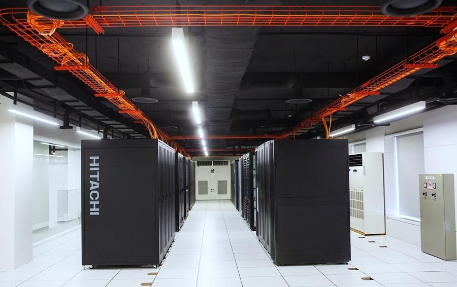 효성인포메이션시스템 DX센터 BMT실