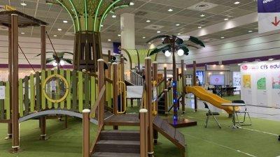 어린이 놀이 시설 전문 기업 'BnG', 유아교육전에서 TORY 소개
