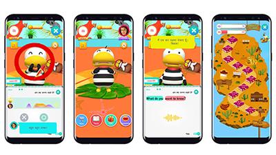 {htmlspecialchars(언택트 시대를 겨냥한 AI 영어회화 앱 '오딩가 잉글리시' 힌디어 버전 론칭… 인도 비대면 온라인교육 시장 진출)}