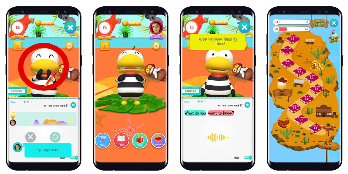 언택트 시대를 겨냥한 AI 영어회화 앱 '오딩가 잉글리시' 힌디어 버전 론칭… 인도 비대면 온라인교육 시장 진출
