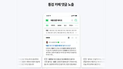 """네이버 """"카페 댓글도 검색결과로 활용"""" 지역·전문분야 정보력 높인다"""