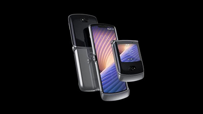 [국제]모토로라, 폴더블 '레이저 5G' 발표