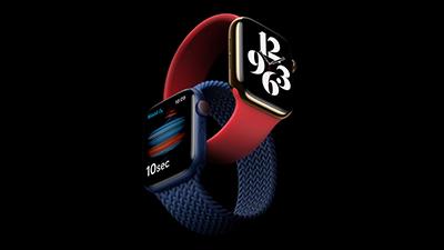 애플, 혈중산소 센서 탑재한 애플워치 6세대 공개... 53만9000원