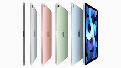 애플, A14칩 탑재한 아이패드 에어 신제품 공개... 77만9000원부터