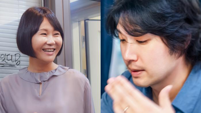 김나연 성우(왼쪽)와 선호제 성우