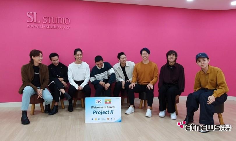 <미얀마 아이돌 그룹 'Project K' 인터뷰 / 사진 : Wculture 제공>