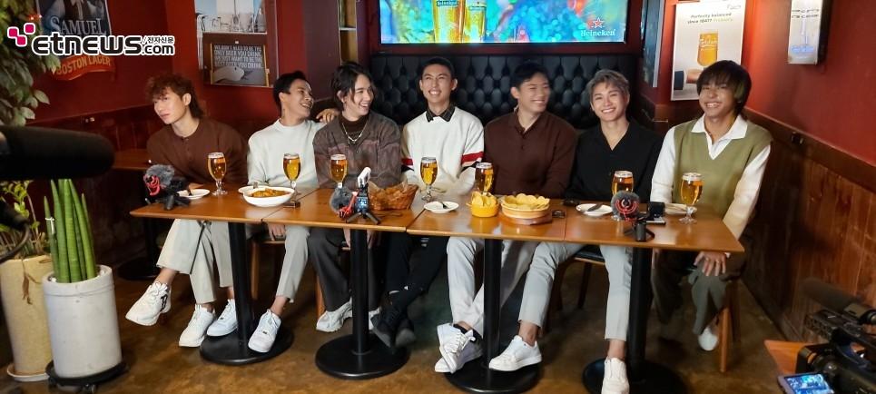 <미얀마 아이돌 그룹 'Project K' 광고 촬영 / 사진 : Wculture 제공>