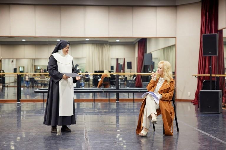 연극 '신의 아그네스' 연습 현장 / 제공 : 예술의전당
