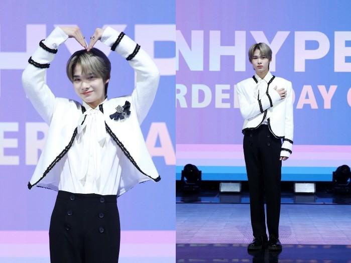 그룹 엔하이픈이 데뷔앨범 'BORDER : DAY ONE'으로 첫 모습을 드러낸다. 멤버 니키의 모습. (사진=빌리프랩 제공)