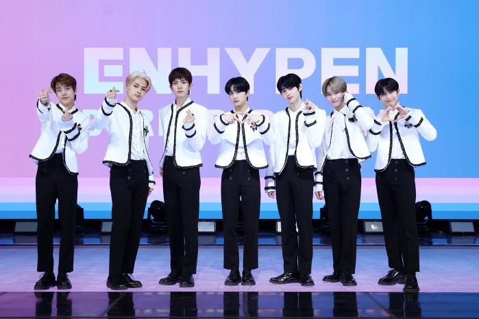 그룹 엔하이픈이 데뷔앨범 'BORDER : DAY ONE'으로 첫 모습을 드러낸다. (사진=빌리프랩 제공)