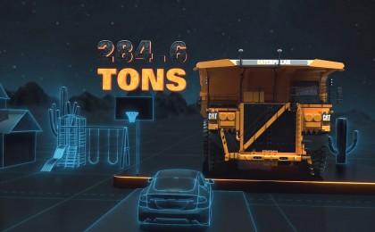 280톤 자율주행 트럭...산업현장도 'AI'