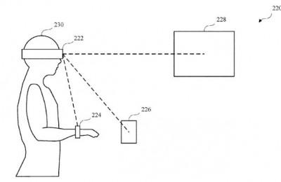 애플이 승인 받은 특허는 장치를 바라보거나 가까이 다가가 잠금을 해제할 수 있다. 사진=미국특허청