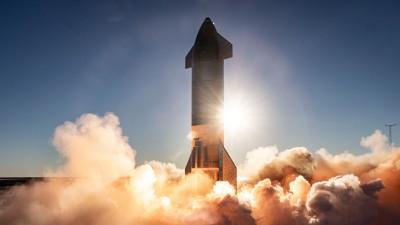 스페이스X가 또 한 번 고고도 시험 비행에 착수한다. 사진은 시제품 'SN8'. 사진=트위터/@SpaceX