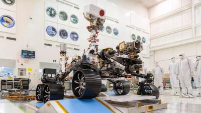 탐사 로버 '퍼서비어런스'. 사진=NASA/JPL-Caltech