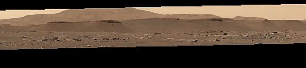 화성 전경이 펼쳐진다. 사진=NASA/JPL-Caltech
