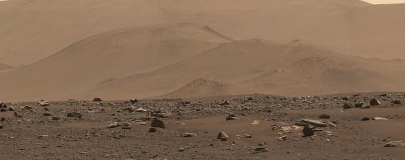 예제로 분화구 주변. 사진=NASA/JPL-Caltech