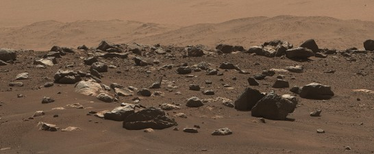 바위가 선명하게 보인다. 사진=NASA/JPL-Caltech