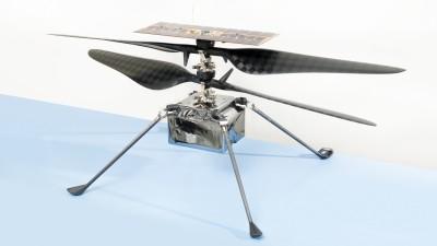 소형 헬리콥터 인제뉴어티. 사진=NASA/JPL-Caltech