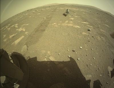 로버 퍼서비어런스가 촬영한 인제뉴어티. 사진=NASA/JPL-Caltech