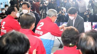 오세훈, 57.5% 득표...서울 전역 통틀어 압승