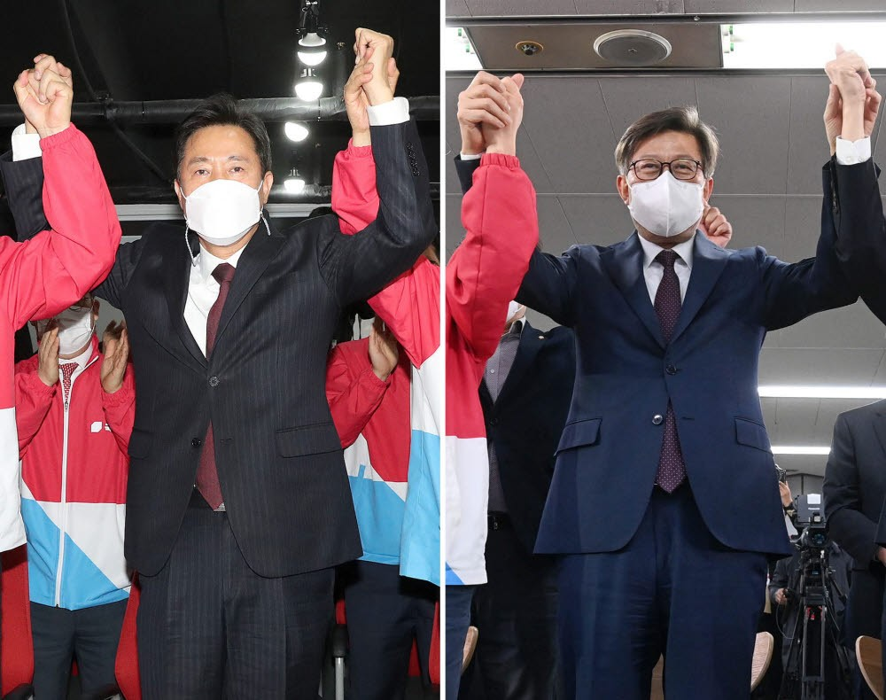 오세훈·박형준 당선, 민심은 변화를 택했다