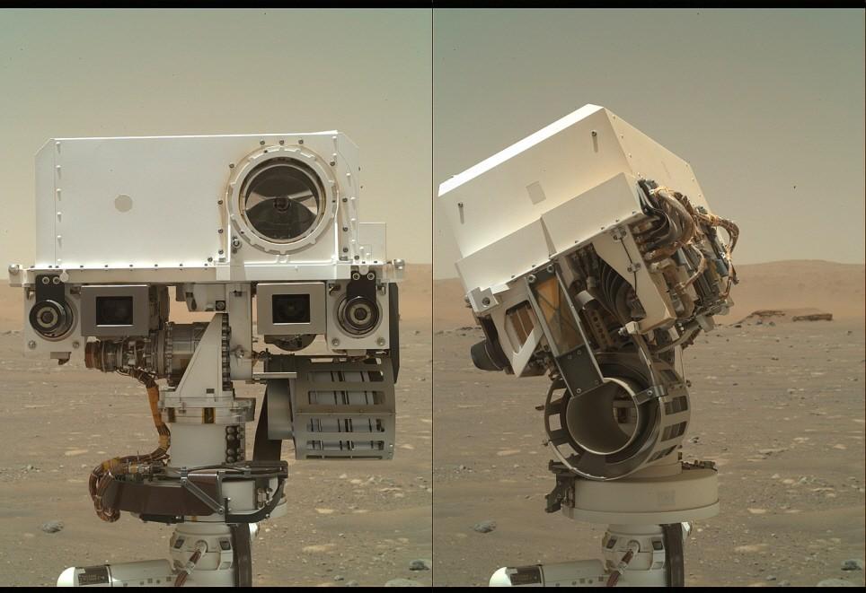 로버 퍼서비어런스. 사진=NASA/JPL-Caltech