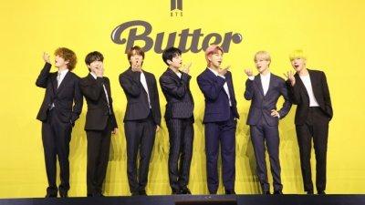 [종합] 방탄소년단, '글로벌 아미 향한 귀염능글 고백송' (신곡 Butter 간담회)