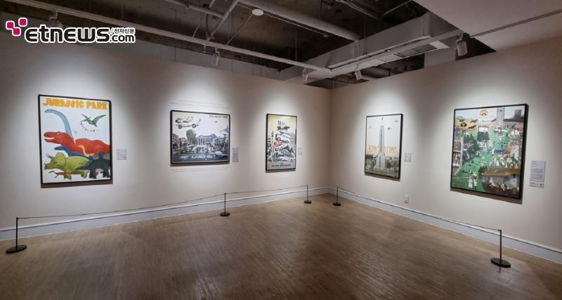 전시 '맥스 달튼, 영화의 순간들' 전경 / 사진 : 정지원 기자