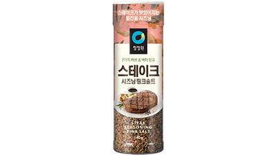 대상 청정원, '스테이크 시즈닝 핑크솔트' 출시