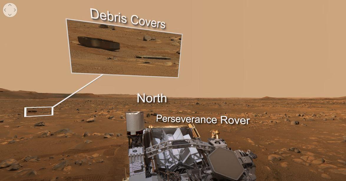 로버 마스트캠-Z로 촬영한 360도 회전 이미지. 사진=NASA/JPL-Caltech/ASU/MSSS