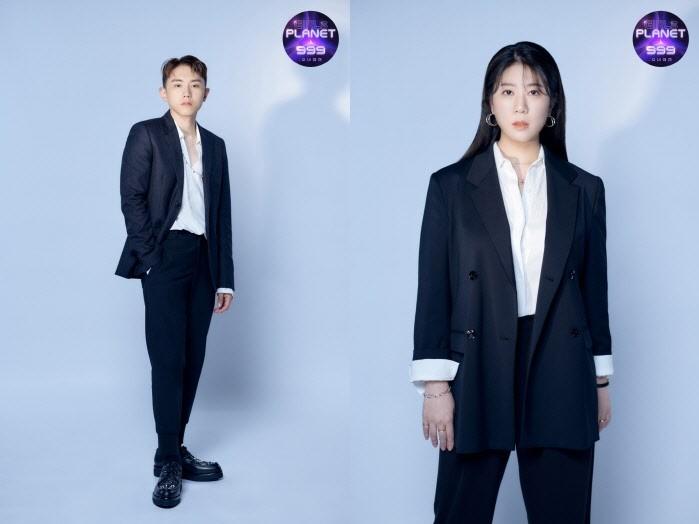 '걸스플래닛999' 보컬마스터 임한별-조아영. (사진=Mnet 제공)