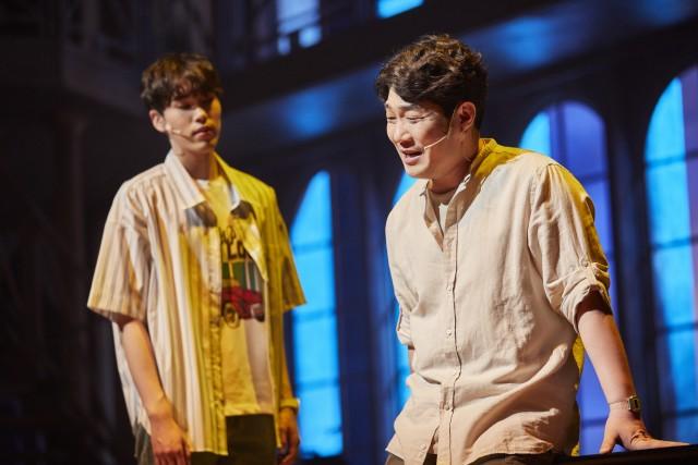 뮤지컬 '태양의 노래' 무대 공연 사진 / 제공 : (주)신스웨이브