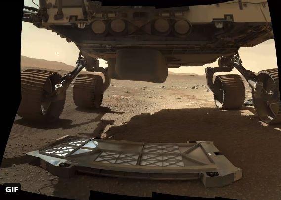 사진=NASA's Perseverance Mars Rover/Twitter