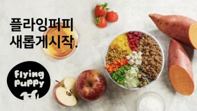밥먹자, 반려견 구독 서비스 '플라잉퍼피' 소개
