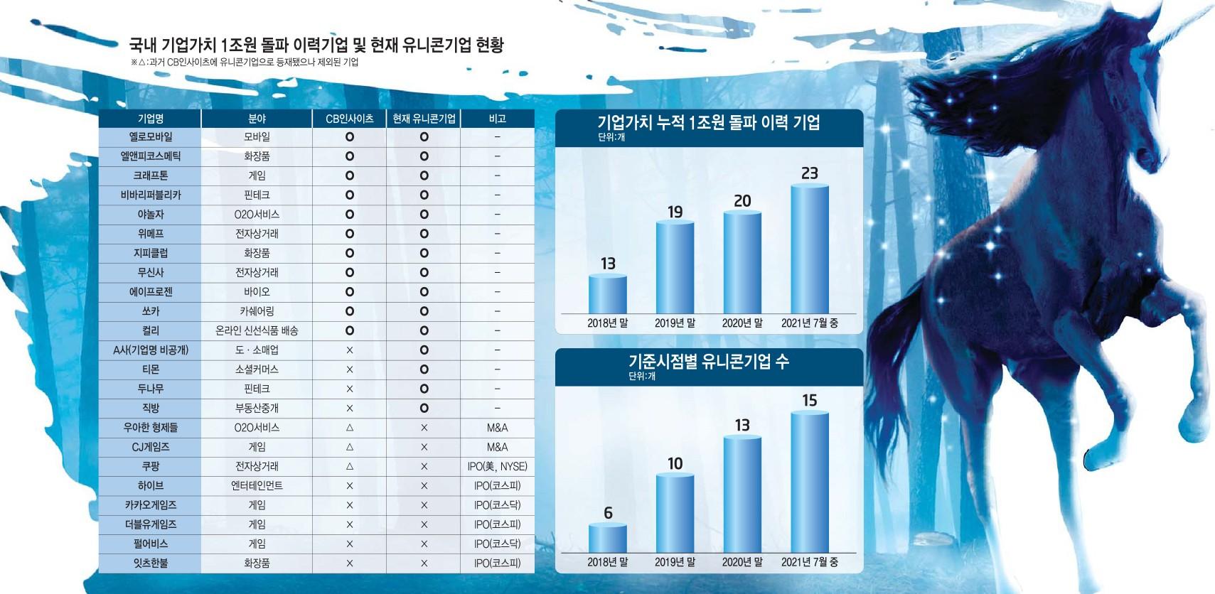 [이슈분석]'성장성 입증' 몸값 고공행진…유니콘 넘어 '데카콘' 전력 질주