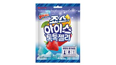 롯데제과, 이색 젤리 '죠스바 아이스 톡톡 젤리' 출시