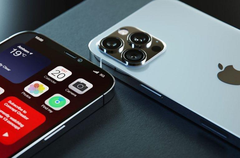 애플 '아이폰13' 예상 렌더링. 사진=렛츠고디지털