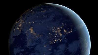 """우주에서 바라본 지구의 야경…""""아름답네"""""""