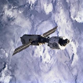 국제우주정거장(ISS) 운용 초기. 사진=NASA