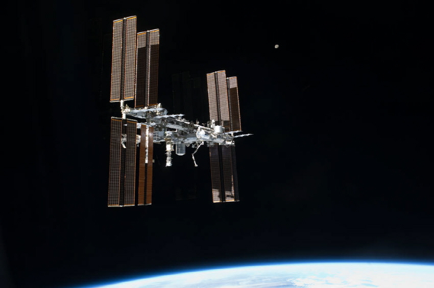국제우주정거장(ISS). 사진=NASA