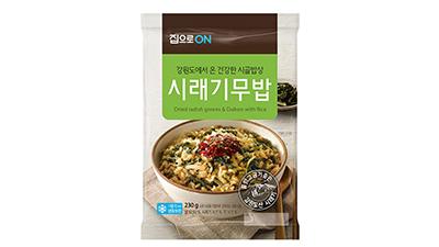 대상 집으로ON, 온라인 전용 '시래기무밥' 출시