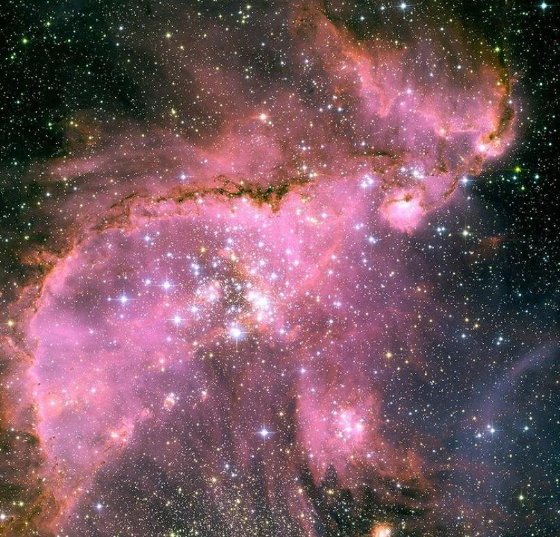 소마젤란 은하. 사진= NASA, ESA and A. Nota (ESA/STScI, STScI/AURA)