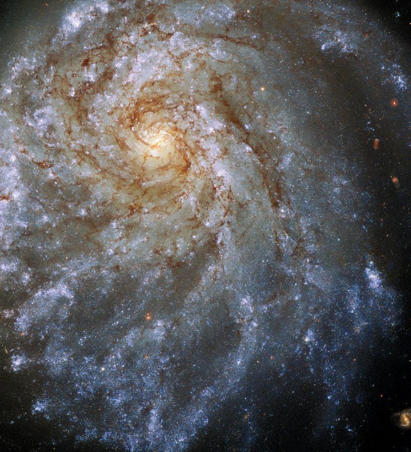 변형된 나선은하 NGC 2276 사진=ESA/Hubble & NASA, P. Sell